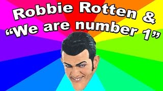 Who is Robbie Rotten?