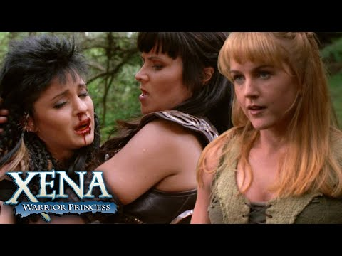 Gabrielle vs Tara   Xena: Warrior Princess