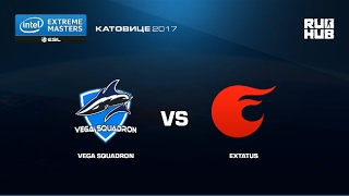 Vega vs. eXtatus - IEM Katowice EU - map2 - de_mirage [yxo, crystalmay]