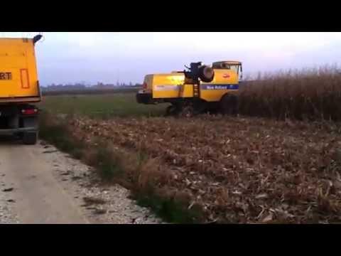QQ 2014 New Holland TC 5050 (видео)
