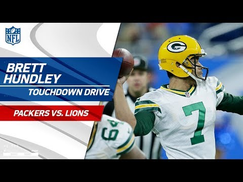 Video: Brett Hundley & Jamaal Williams Lead Green Bay on Scoring Drive! | Packers vs. Lions | NFL Wk 17