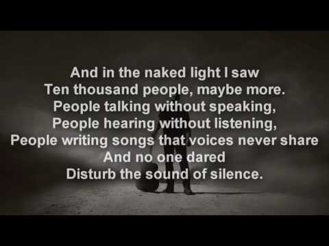 Disturbed - The Sound of Silence [LYRICS]