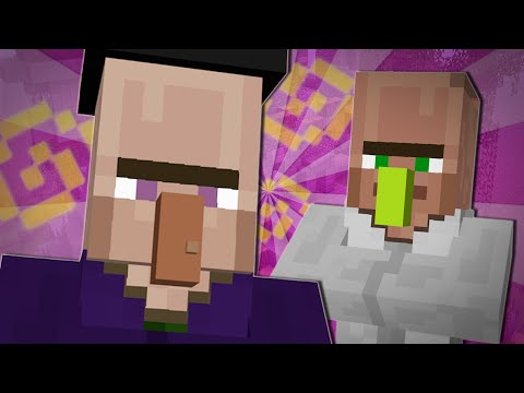TRAYAURUS AND THE WITCH | Minecraft