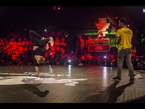 Ratin VS Lil G - Semi-Finals - Red Bull BC One Latin America Final 2014