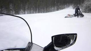 9. Ski-doo Expedition 1200 2012 et Expedition 550f
