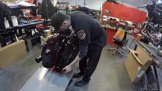 8. Sound Harley-Davidson - 2019 FLHXSE CVO Street Glide PDI Process