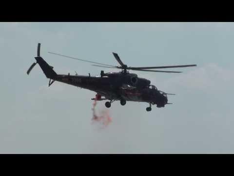 Vystoupení Mi-24V Alien Tiger na...