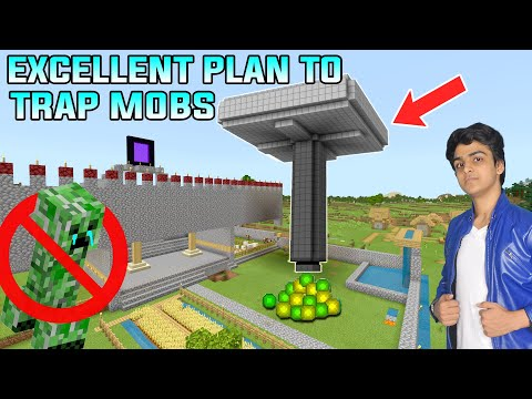 MOB XP FARM | BIGGEST TRAP FOR MOBS  | MINECRAFT TELUGU DOST GAMEPLAY #10