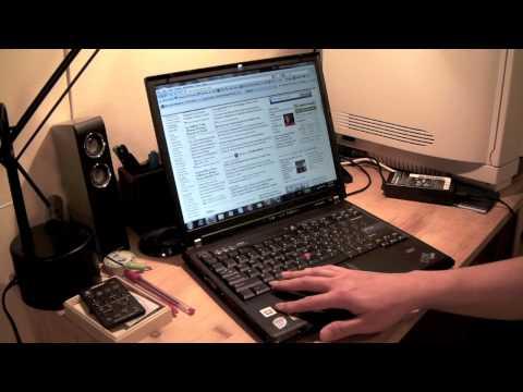 Thinkpad T60 Walkthrough