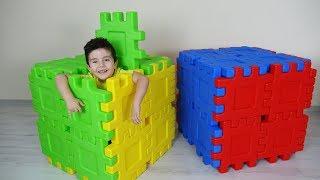 Sihirli Küplerle Saklambaç Oynadık | Yusuf pretend play with magic boxes