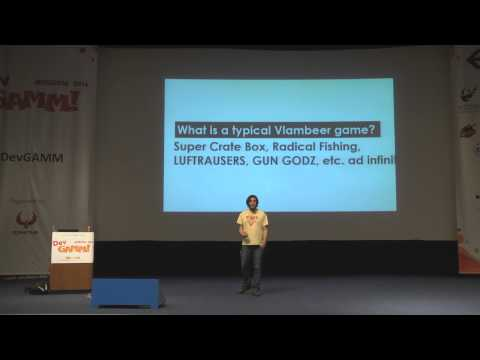 Vlambeer: Sincere Game Design (DevGAMM Moscow 2014)