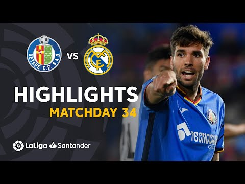 Highlights Getafe CF vs Real Madrid (0-0) - Thời lượng: 1:31.