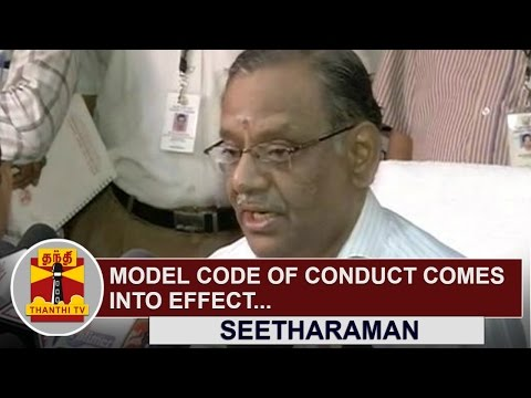Model-code-of-conduct-comes-into-effect-Seetharaman-TN-State-Election-Commissioner