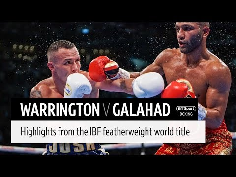 Josh Warrington V Kid Galahad Official Highlights