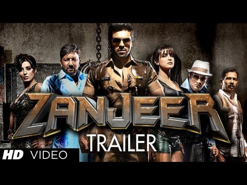 Zanjeer Trailer 2013 Hindi Movie | Ram Charan, Priyanka Chopra, Prakash Raj,Sanjay Dutt