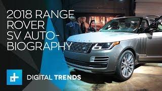 2018 Range Rover SV Autobiography - LA Auto Show