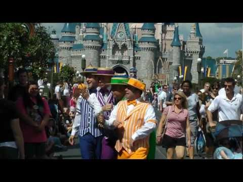 Main Street USA - Main Street, U.S.A. within Magic Kingdom, Walt Disney World 2012 (HD 1080p)  SKIP the LINES, with tips, apps and real tickets at http://www.undercovertouris...