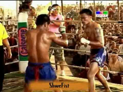 Myanmar vs Thai, friendship fight, 2 of 2