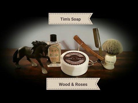 Tim's Soap Wood & Roses