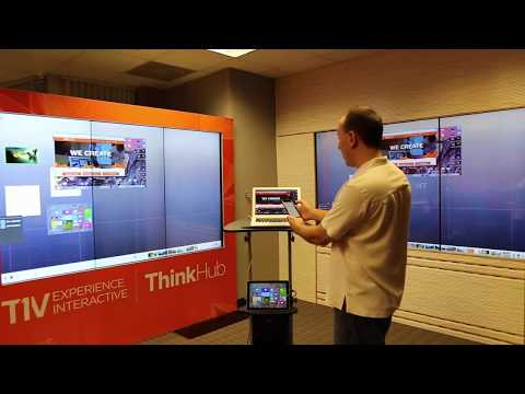 T1V ThinkHub Demo: MultiSite Collaboration