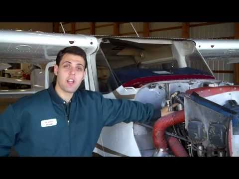 Oil Change on Cessna 172 Skyhawk