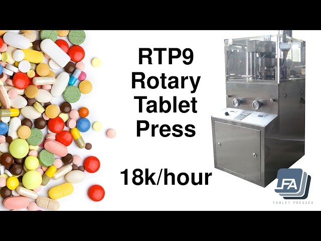 RTP 9 Introductory Video - LFA Tablet Presses