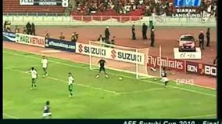 Video Malaysia vs Indonesia (AFF Suzuki Cup 2010 - Final Leg 1) MP3, 3GP, MP4, WEBM, AVI, FLV November 2018