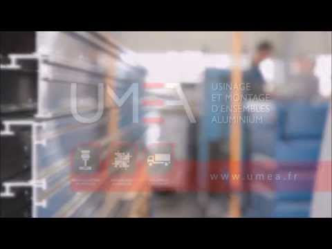 Video UMEA - Sous-traitant Aluminium - Visite de nos ateliers (Nouveau Centre d'usinage 5 axes - 8200 mm)