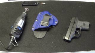 Ever had that holster that would be perfect if there was just one little tweak you could make?  This is that video...