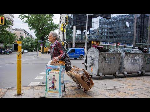Bulgarien setzt auf müllsammelnde Rentner