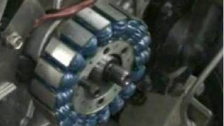 1. Polaris ignition upgrade and flywheel removal