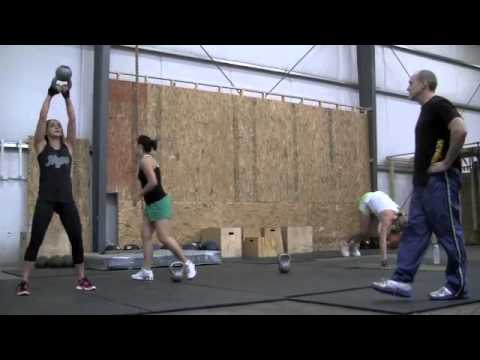 Fort Mill CrossFit Does Kettlebell Swings for CrossFit Training, LA