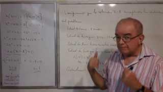 Algebra Intermedia - Lección 44 - A (problemas De Edades)