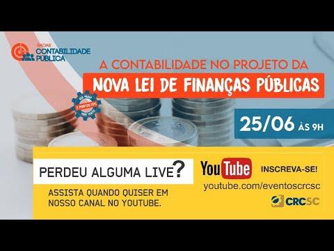 """Radar Contabilidade Pública """"A Contabilidade no Projeto da Nova Lei de Finanças Públicas"""""""