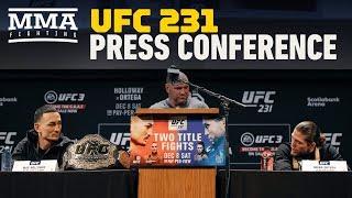 Video UFC 231 Pre-Fight Press Conference - MMA Fighting MP3, 3GP, MP4, WEBM, AVI, FLV Desember 2018
