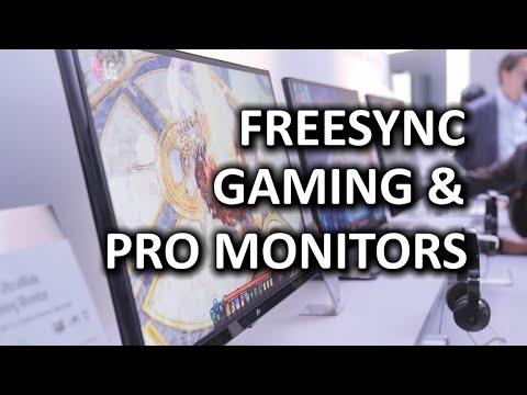 LG Freesync Ultrawide 34UM67 & New Professional Monitors – CES 2015