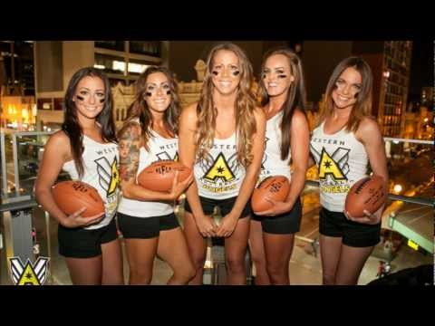 6PR Radio Interview with Stephanie and Tammie 2013 LFL Western Australia Angels \\\A///