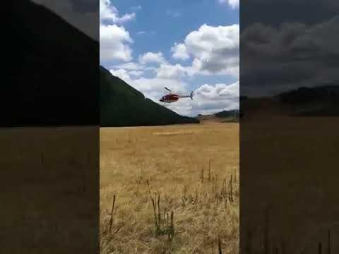 Campo Imperatore, aperta un'inchiesta sull'elicottero caduto
