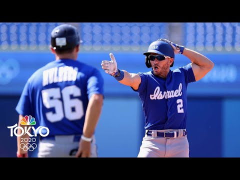 Israel eliminates Mexico from baseball tourney with offensive barrage | Tokyo Olympics | NBC Sports