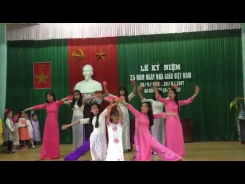 """Bài múa """"Cô ơi"""" chi đội lớp 9 trường THCS An Bồi"""