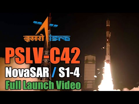 PSLV-C42/NovaSAR and S1-4 Launch Mission | Full Launch Video
