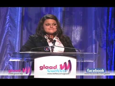 Constance McMillen at the 21st Annual GLAAD Media Awards in Los Angeles 