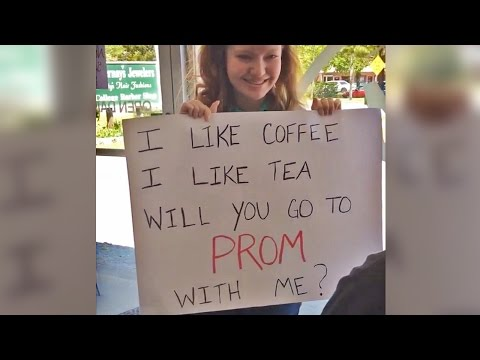 SWEETEST PROMPOSAL EVER