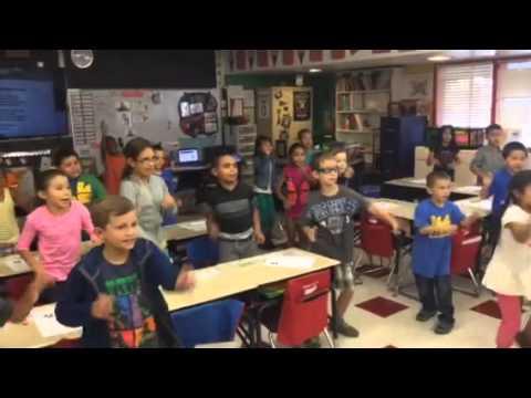 Suisun Valley Second Graders UC Berkeley Chant