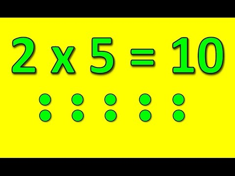 The 2 Times Table Song (Multiply by 2) | Silly School Songs