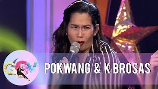 Video GGV: Pokwang shares her funny moment at the airport with her daughter Malia MP3, 3GP, MP4, WEBM, AVI, FLV Maret 2019