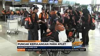 Aksi Flash Mob Hibur Atlet Mancanegara Sebelum Kepulanganya ke Negara Asal