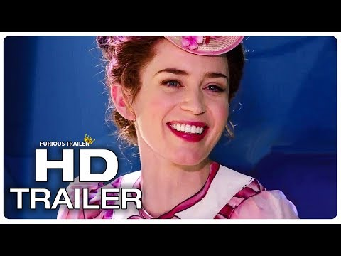MARY POPPINS RETURNS Official Trailer #2 (NEW 2018) Emily Blunt Disney Movie HD