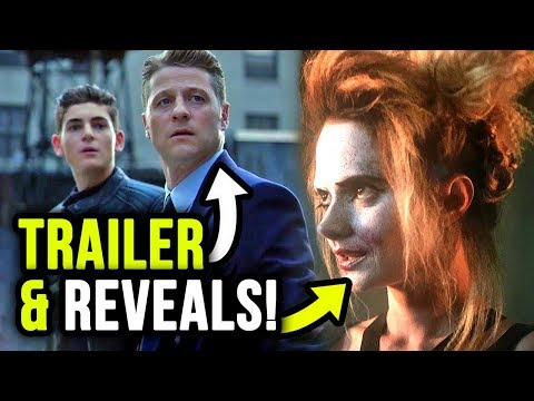 Gotham Season 5 TRAILER & 10 YEAR Time Jump?!