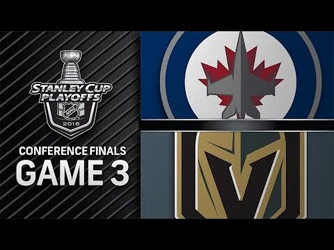 Winnipeg Jets vs Vegas Golden Knights May. 16, 2018 l Game 3 l Stanley Cup 2018 Обзор